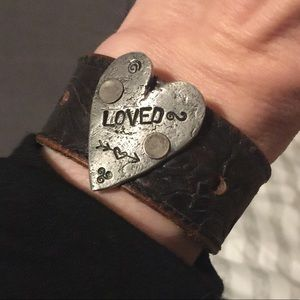 Jewelry - Unique Boho style Leather Bracelet 💜